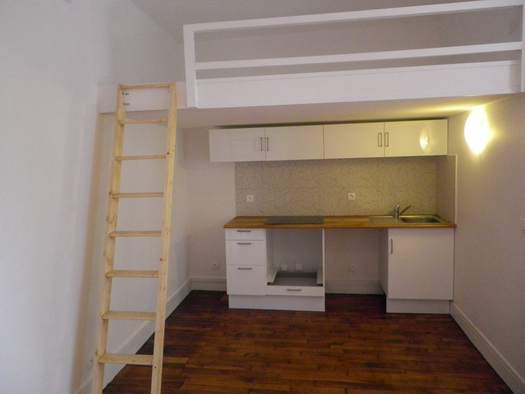 Renovation appartement studio asni res sur seine de 20m2 - Studio mezzanine ...