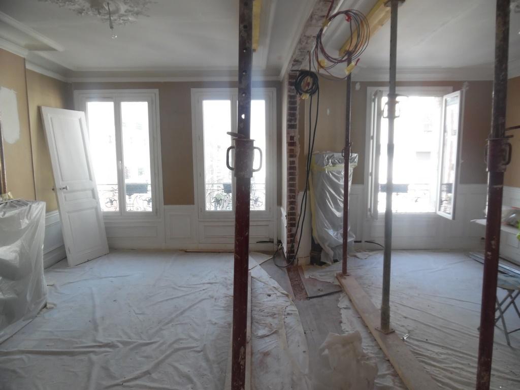 renovation appartement levallois perret 92300 de 65 m2. Black Bedroom Furniture Sets. Home Design Ideas