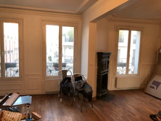 renovation appartement levallois perret 92300 quartier louise michel de 65 m2. Black Bedroom Furniture Sets. Home Design Ideas