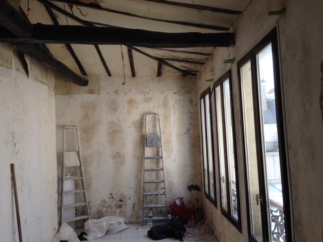 renovation appartement quartier bastille paris 75011 de 36 m2. Black Bedroom Furniture Sets. Home Design Ideas